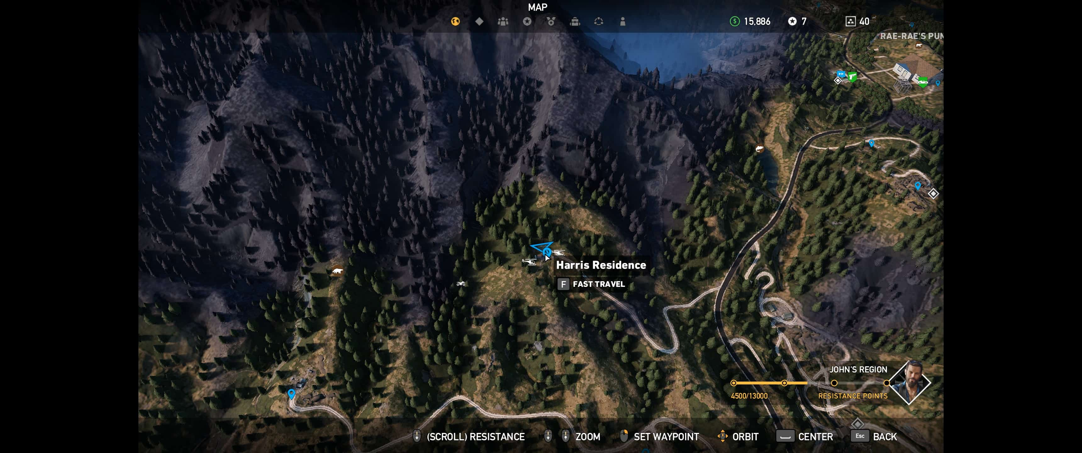 far cry 5 lighters locations map