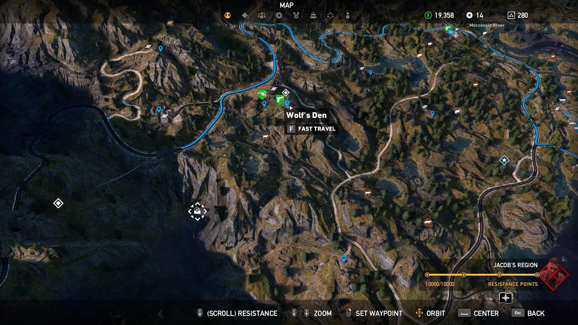 Far Cry 5 Map Locations Maping Resources