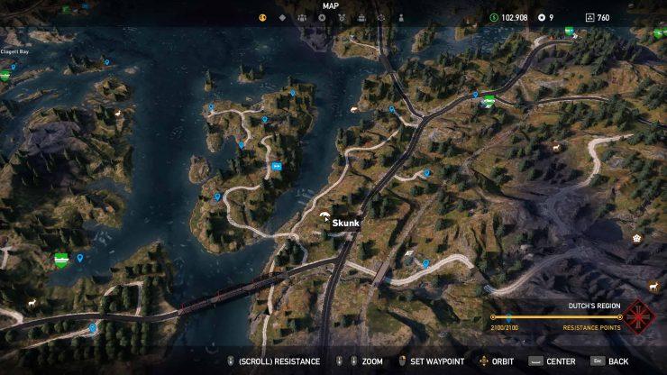Skunk Location in Far Cry 5