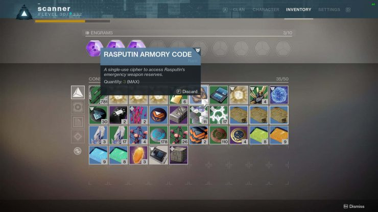 Destiny 2 How To Use An Armory Code Tl Dr Games