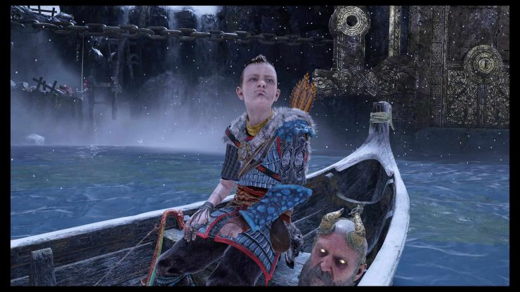 Photo Mode Now Available in God of War