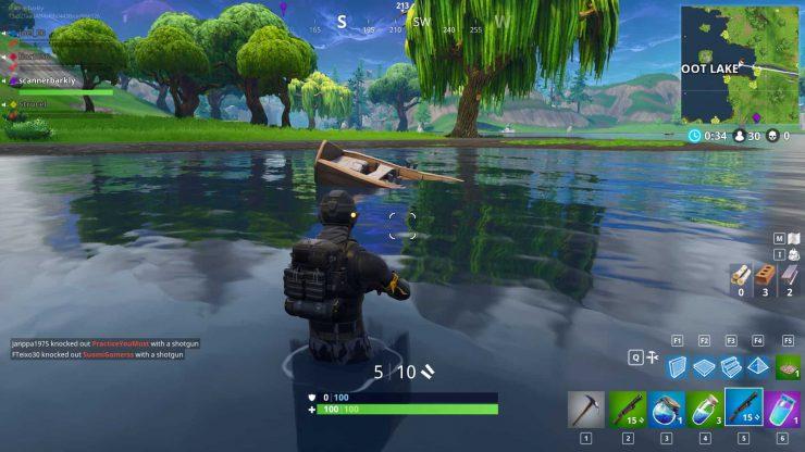 Loot Lake Treasure