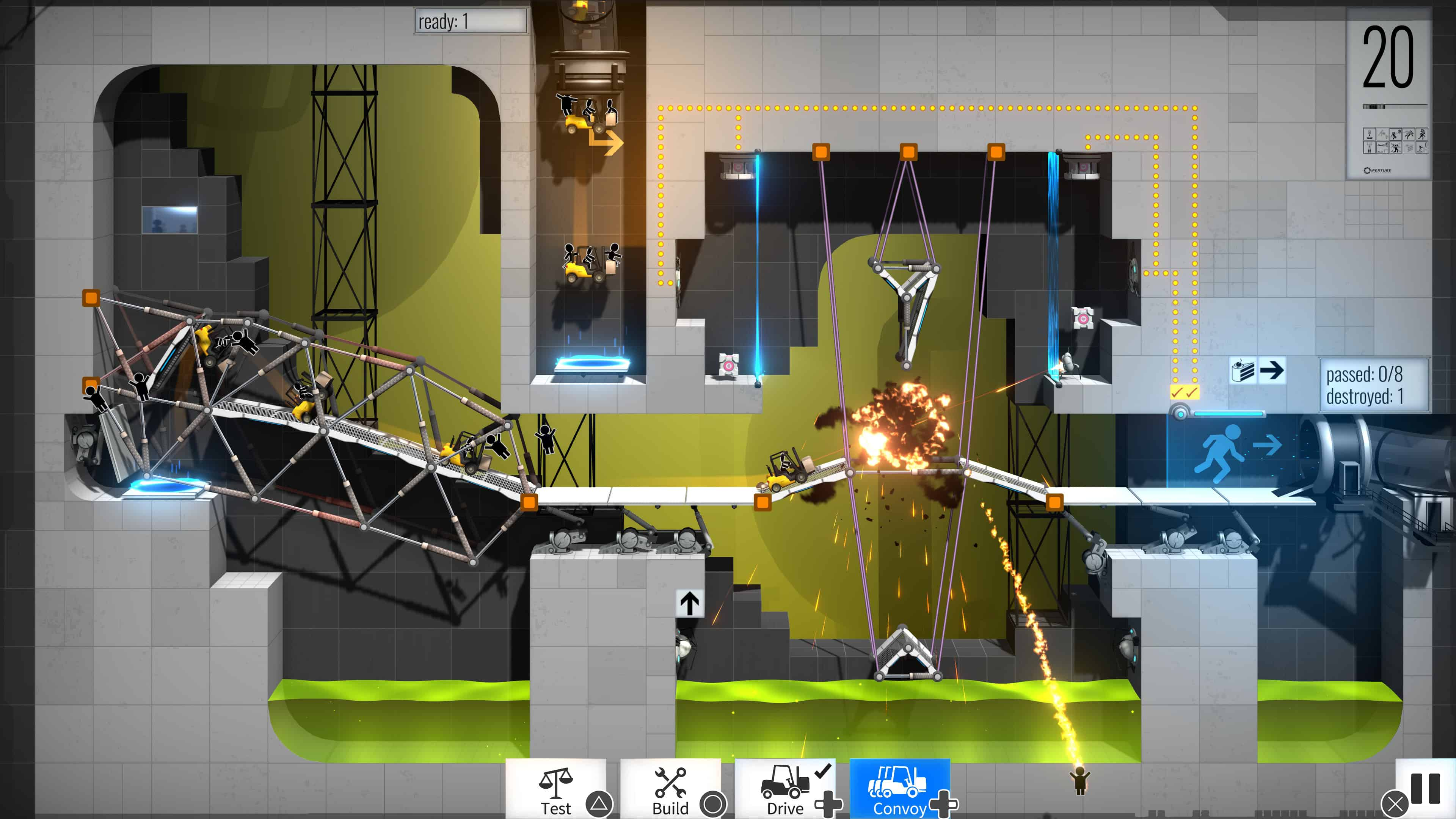 Bridge Constructor Portal Coming to PS4 and Xbox One Retail