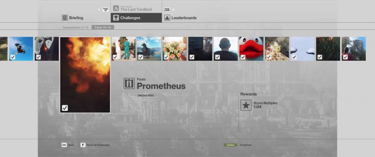 How to Complete the Prometheus Feat in Hitman: Sniper Assassin