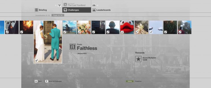 How to Complete the Faithless Feat in Hitman: Sniper Assassin