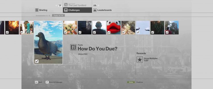 How to Complete the How Do You Due? Feat in Hitman: Sniper Assassin