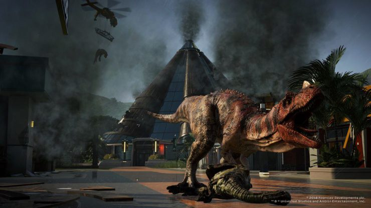 Jurassic World Evolution Launches Today