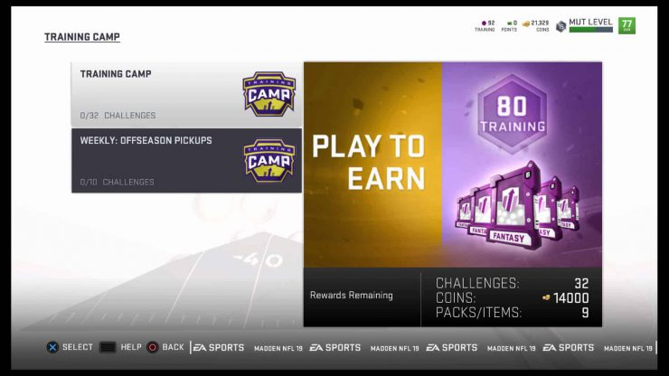 Madden NFL 19 - How to Upgrade a MUT Player
