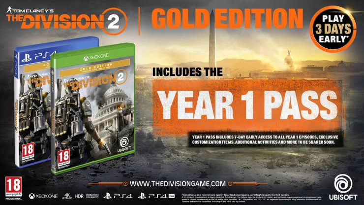 You Can Now Pre-Order Tom Clancy's The Division 2