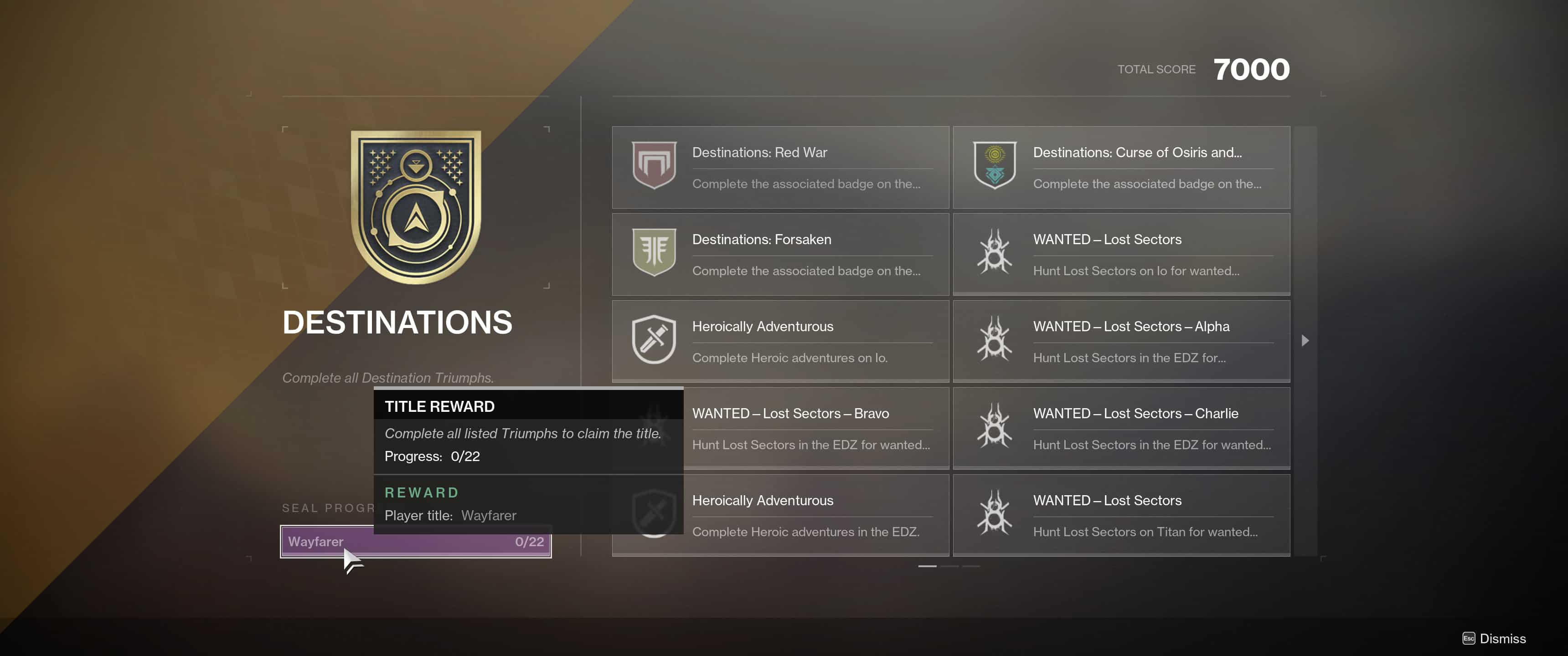 How to Track and Claim Triumphs in Destiny 2: Forsaken