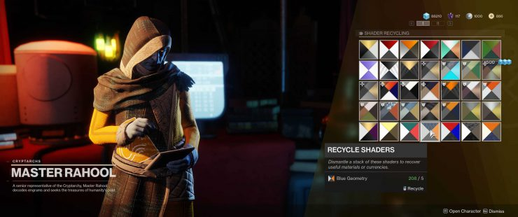 Destiny 2 - How to Delete Shaders in Bulk