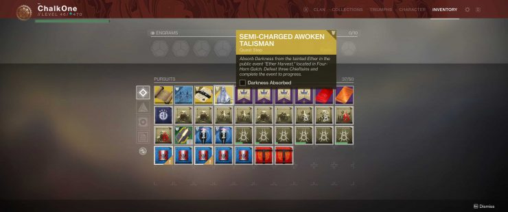 Repair the Broken Awoken Talisman & Unlock the Dreaming City in Forsaken