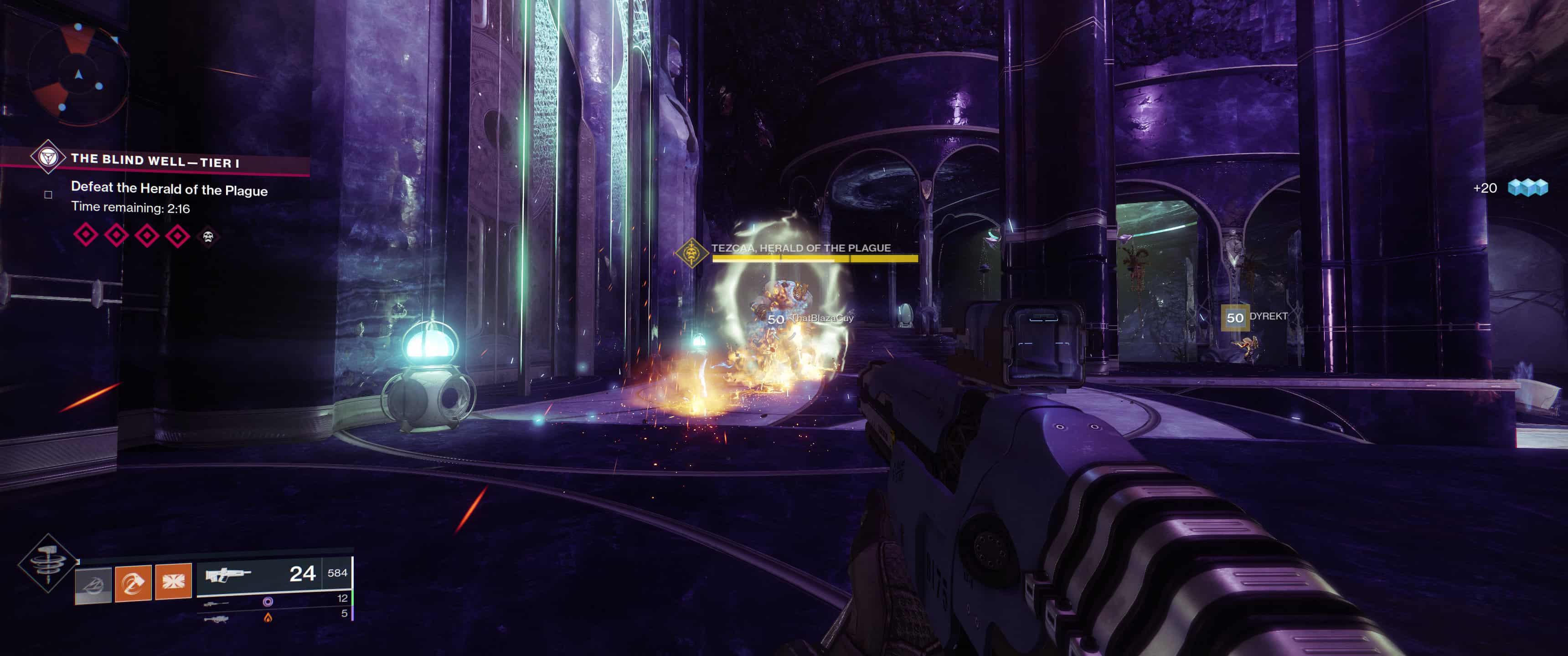 Image result for destiny 2 forsaken the blind well