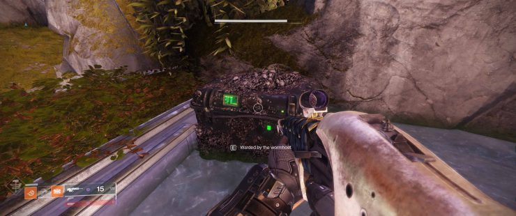 """Warded by the Wormhost"" - How to Open the Wormwood Chest in the Dreaming City"