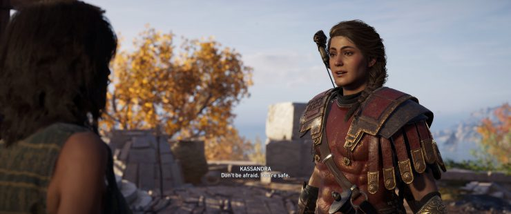 How to Get Ultra-Wide Cutscenes in Assassin's Creed: Odyssey