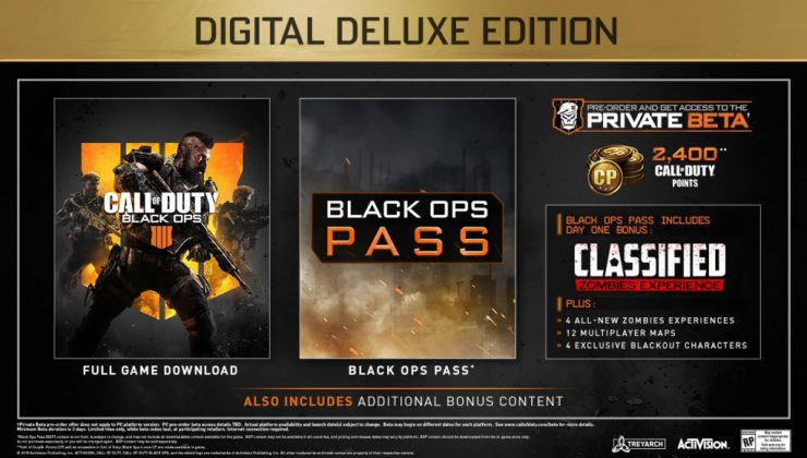 Black Ops 4 Edition Differences - Deluxe & Pro Contents