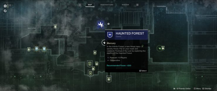 Destiny 2 - How To Access The Haunted Forest