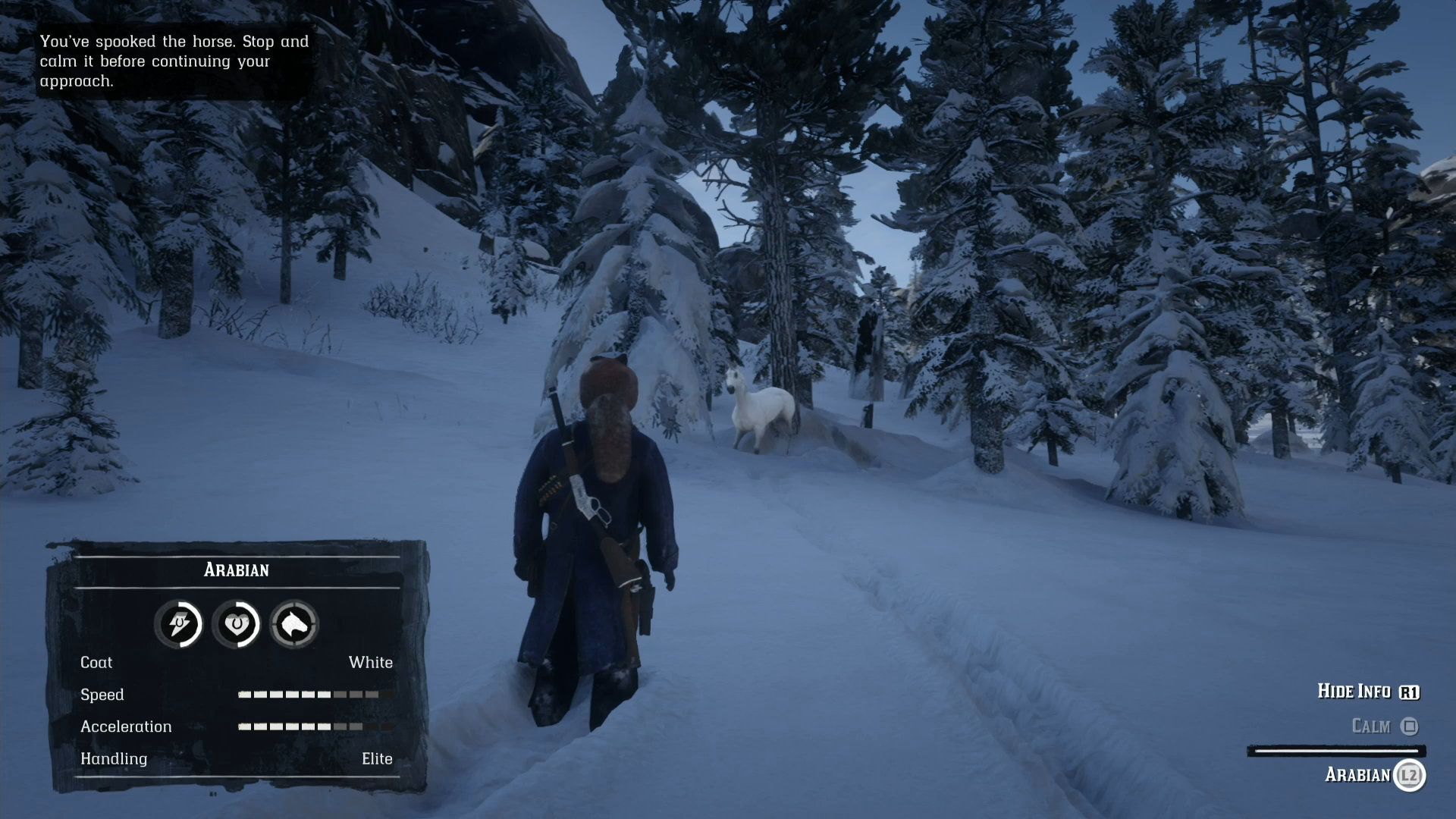 How to Find the White Arabian Horse in Red Dead Redemption 2