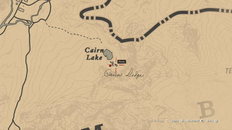 Red Dead Redemption 2 - How to Find the Poisonous Trail Map Treasure