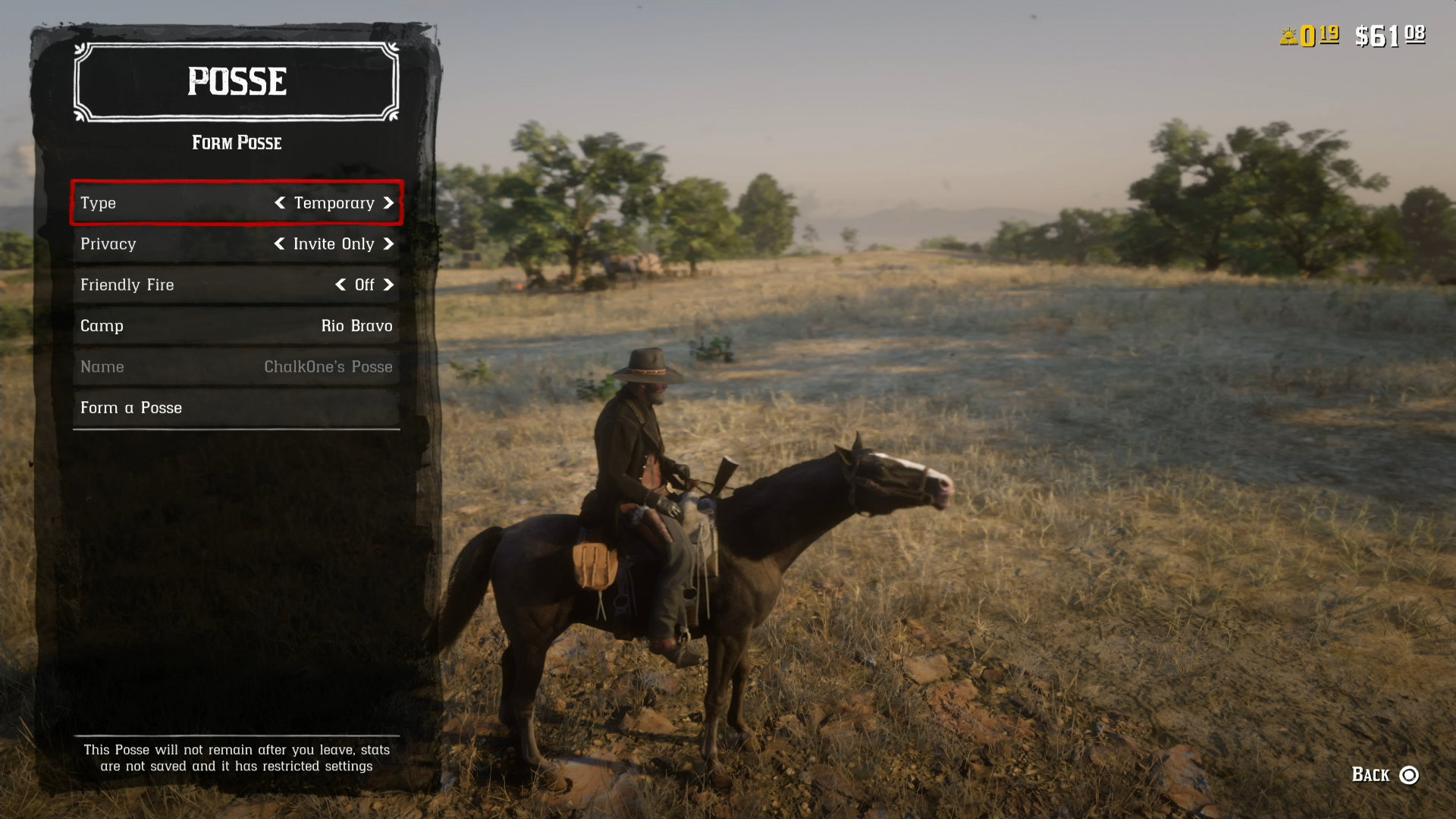 How to leave a posse rdr2