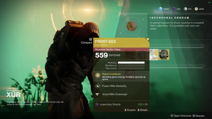 What Time Does Xur Come And Where Is Xur in Destiny 2 - Nov 2 2018