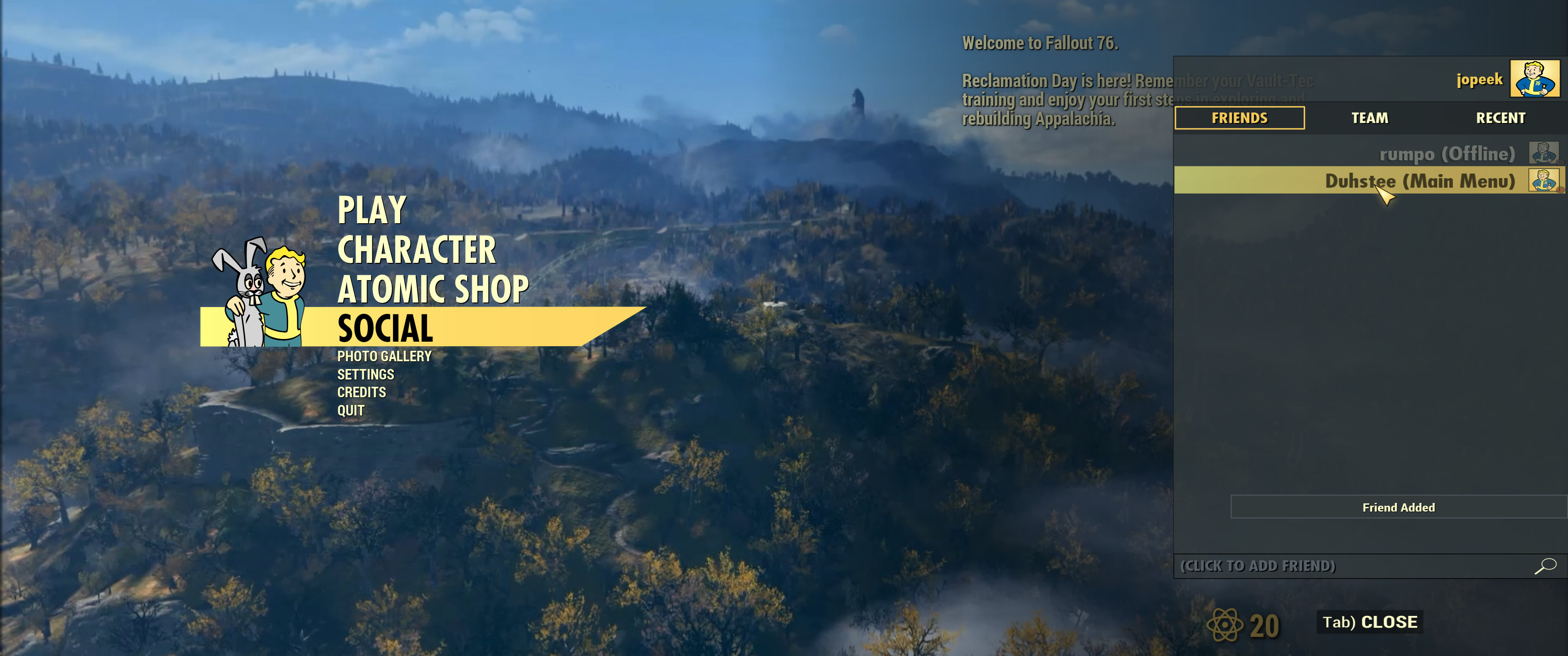 How to Play With Friends and Create a Team in Fallout 76