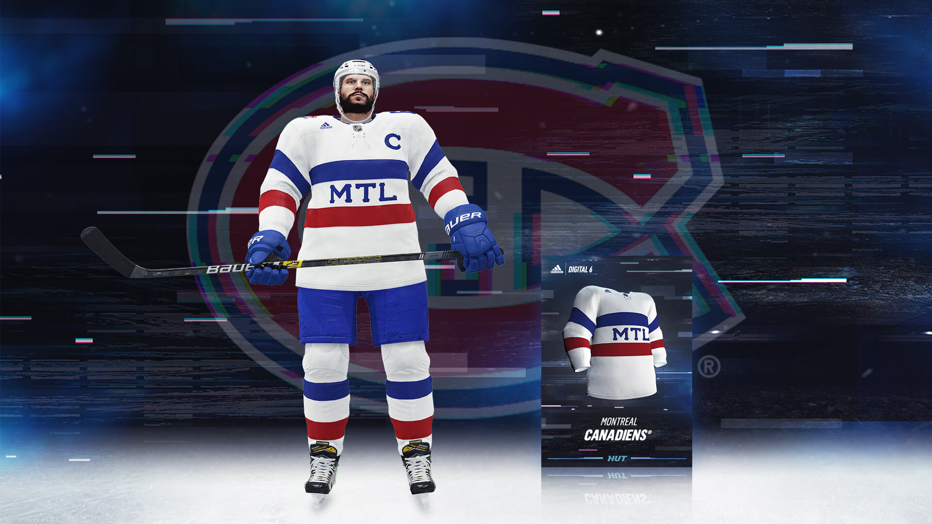 Get Exclusive Adidas Uniforms for Original Six NHL 19 Teams f3de2046fd6