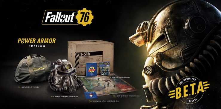 Fallout 76 Power Armor Edition Contents