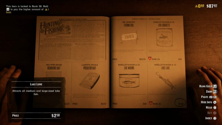 Where to Catch Salmon and Make Money in Red Dead Online
