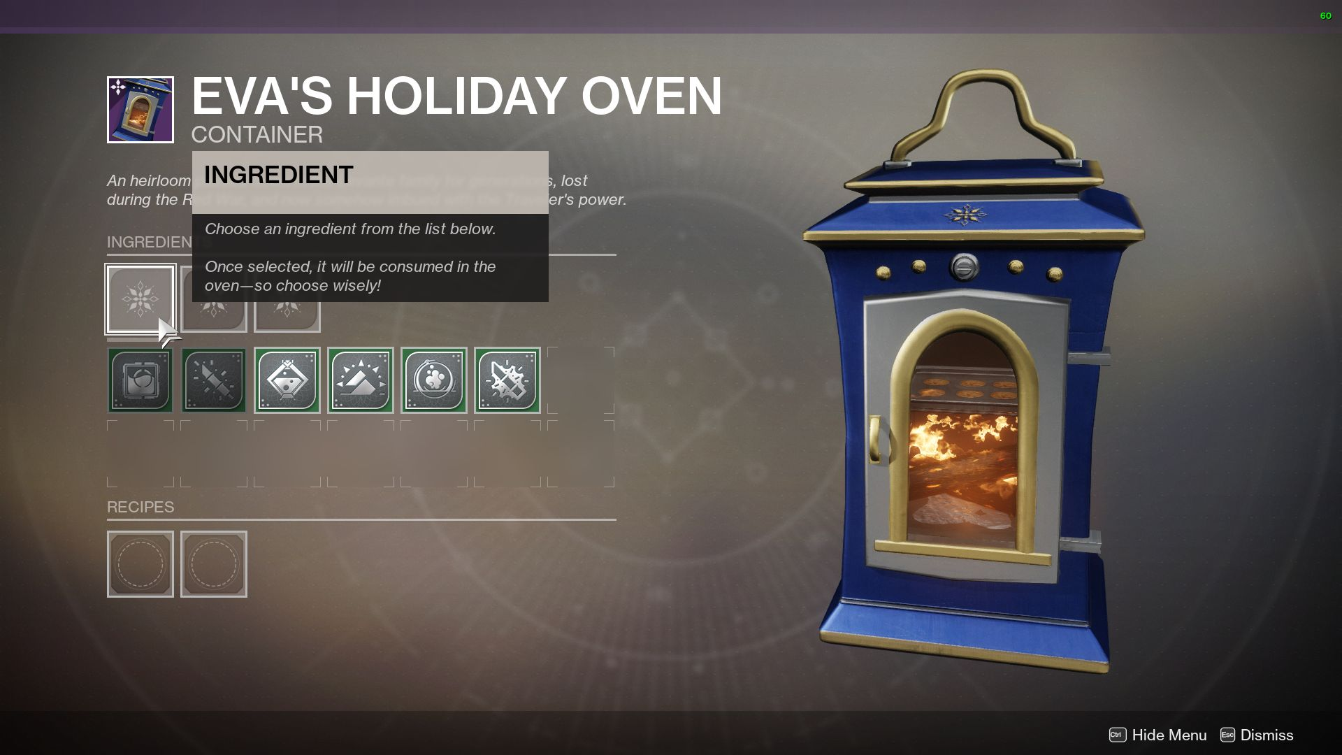 The Dawning How To Use Eva S Holiday Oven