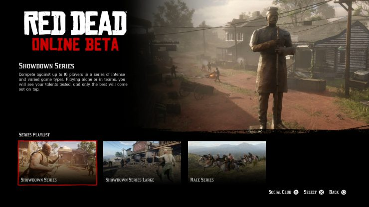Red Dead Online Series Mode