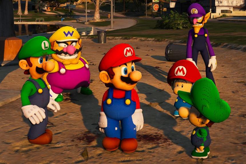 Super Mario Plumbers