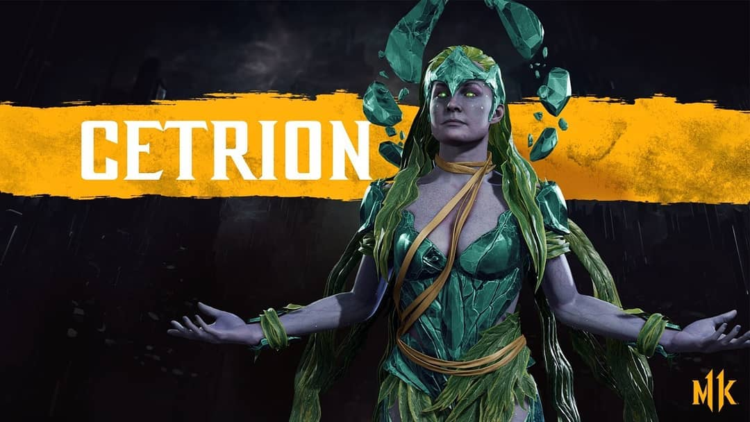 Cetrion joins the combat in MK11