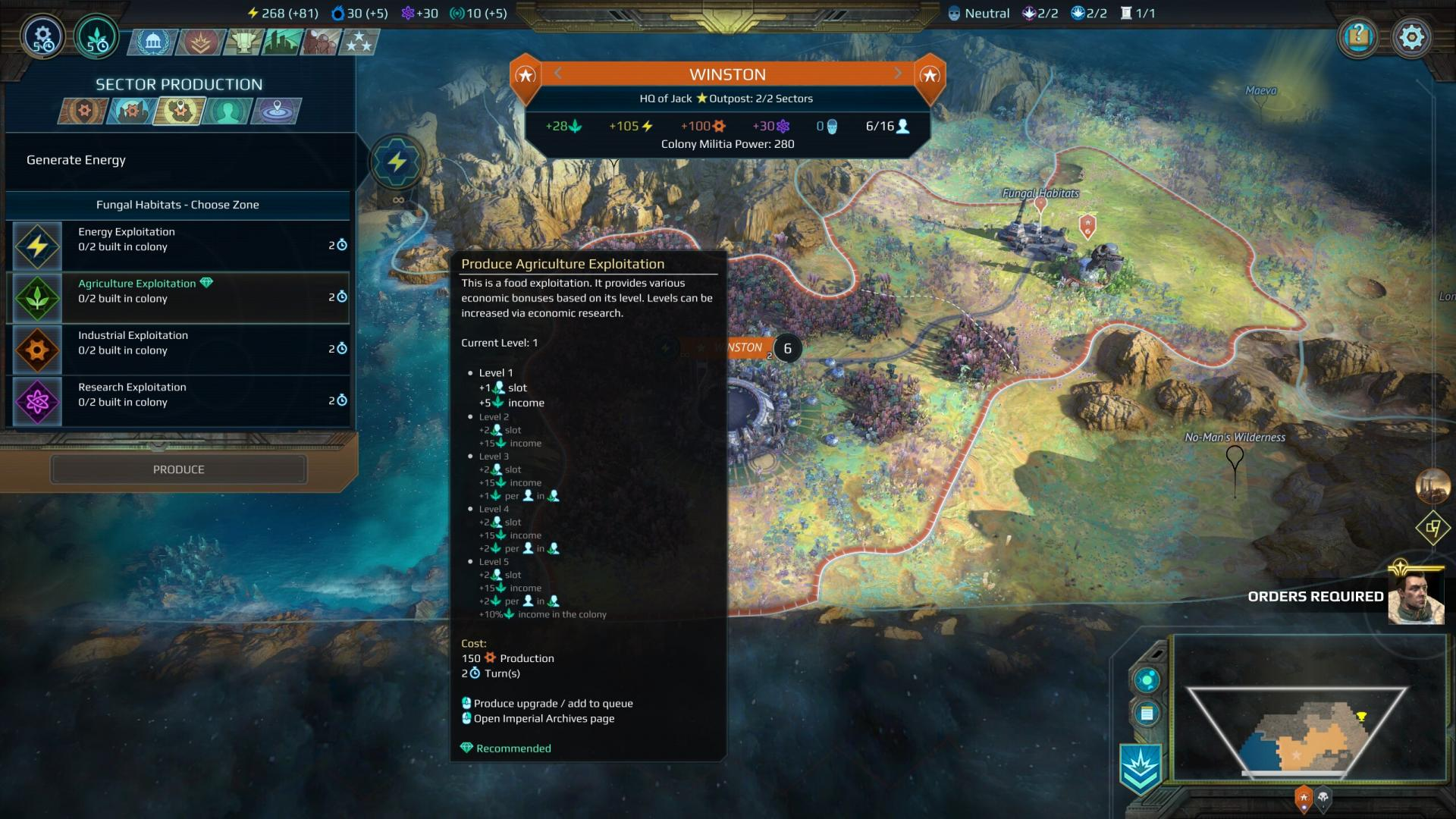 Age of Wonders: Planetfall - How To Annex And Exploit A Sector
