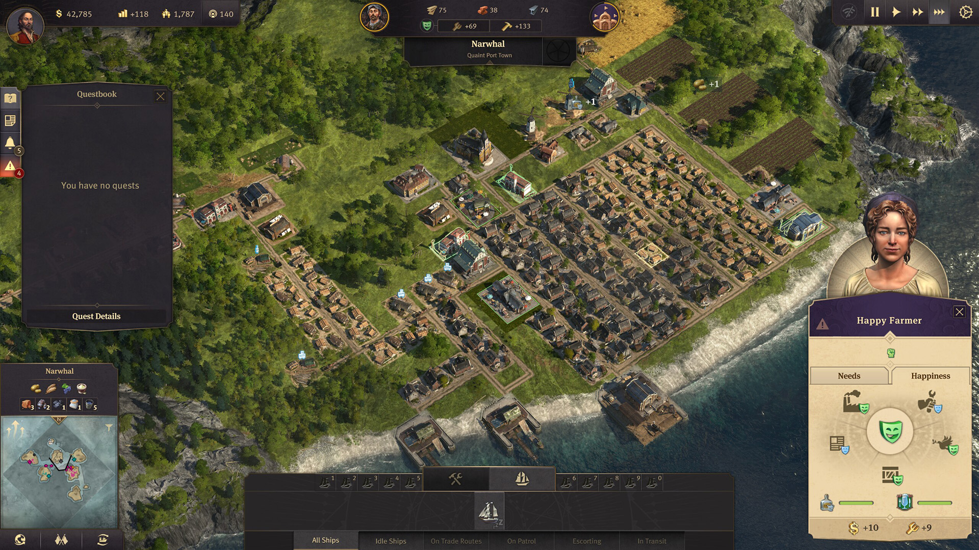 Anno 1800 Happiness