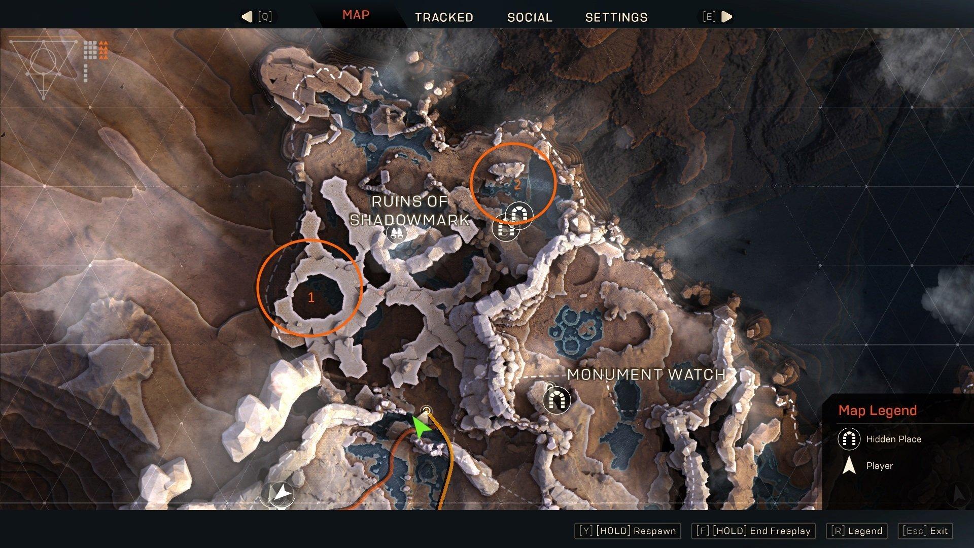 Anthem Ruins of Shadowmark World Events