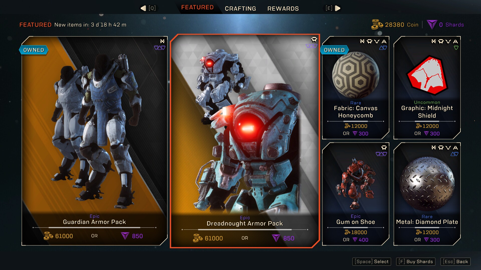 Microtransaction Store