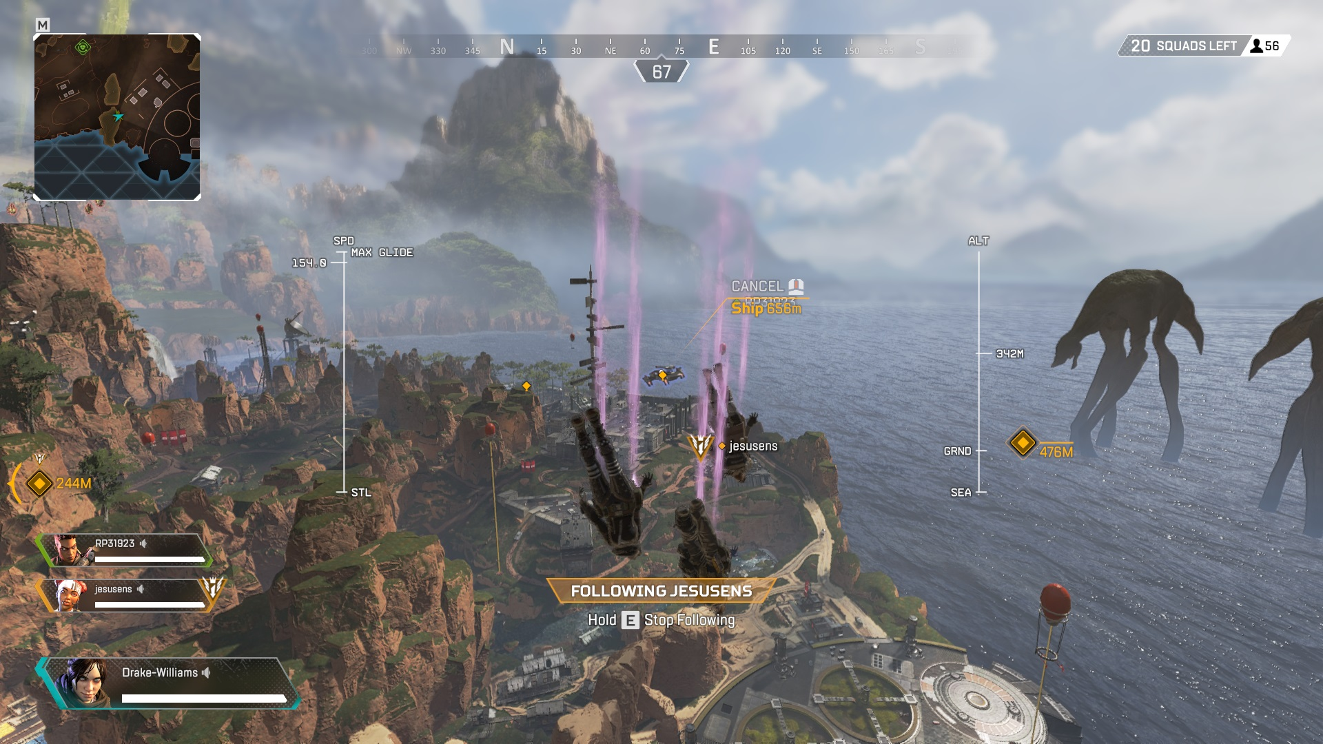 Apex Legends Drop Ship Icon