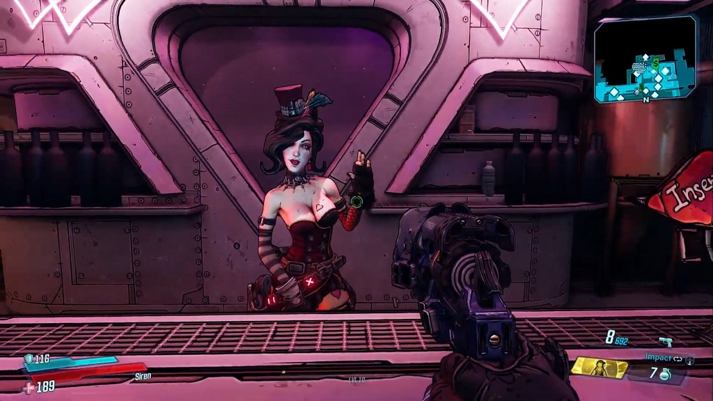 Borderlands 3's returning characters