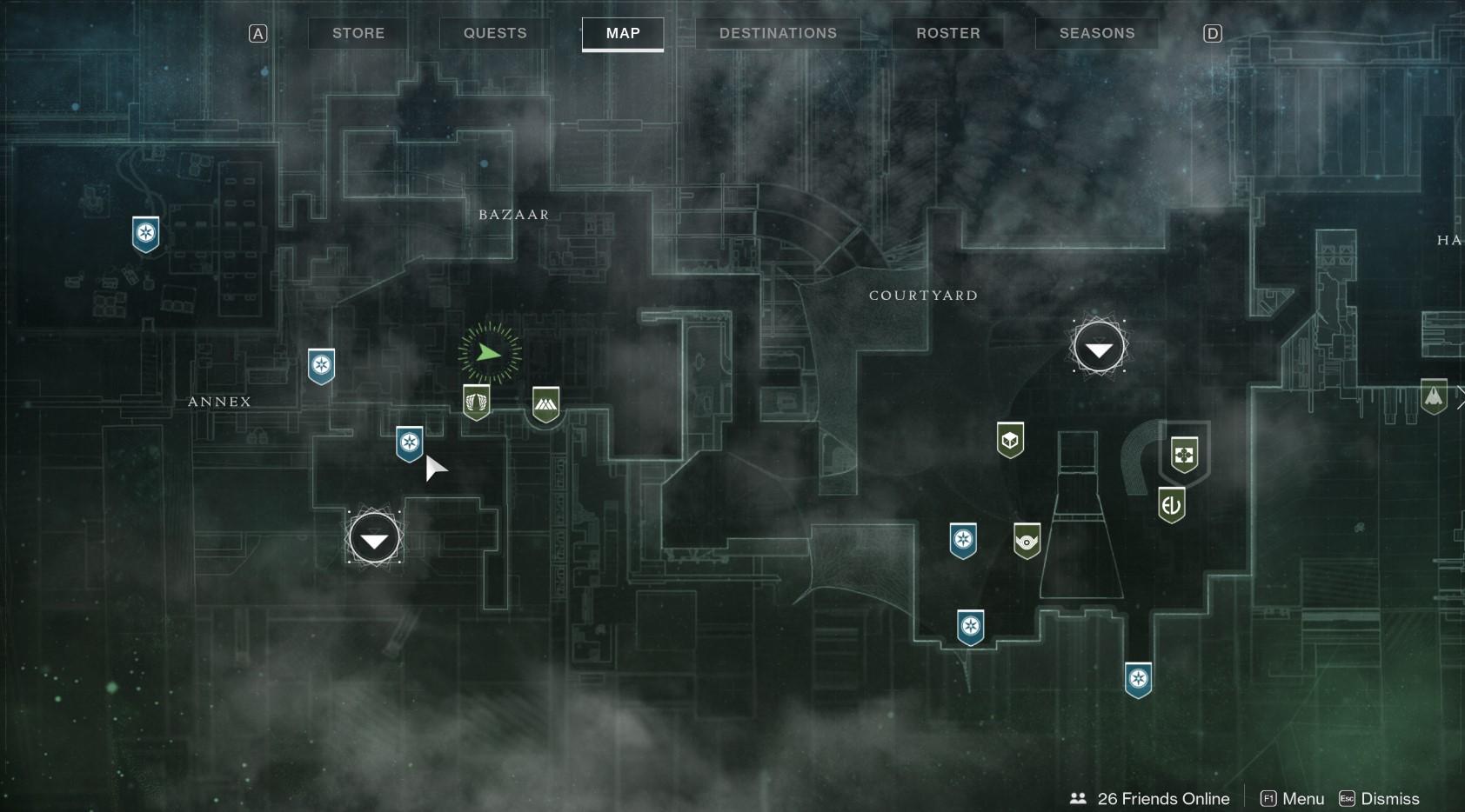 Tower Map The Drifter