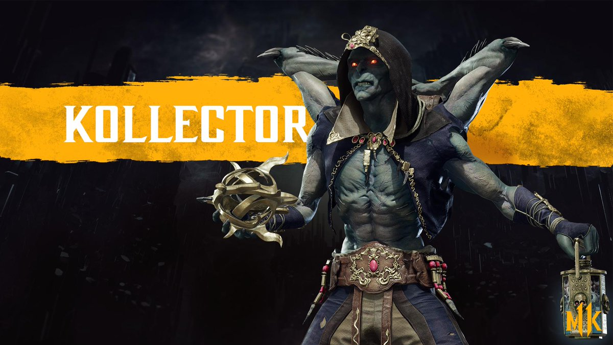 Kollector is a new character in MK11