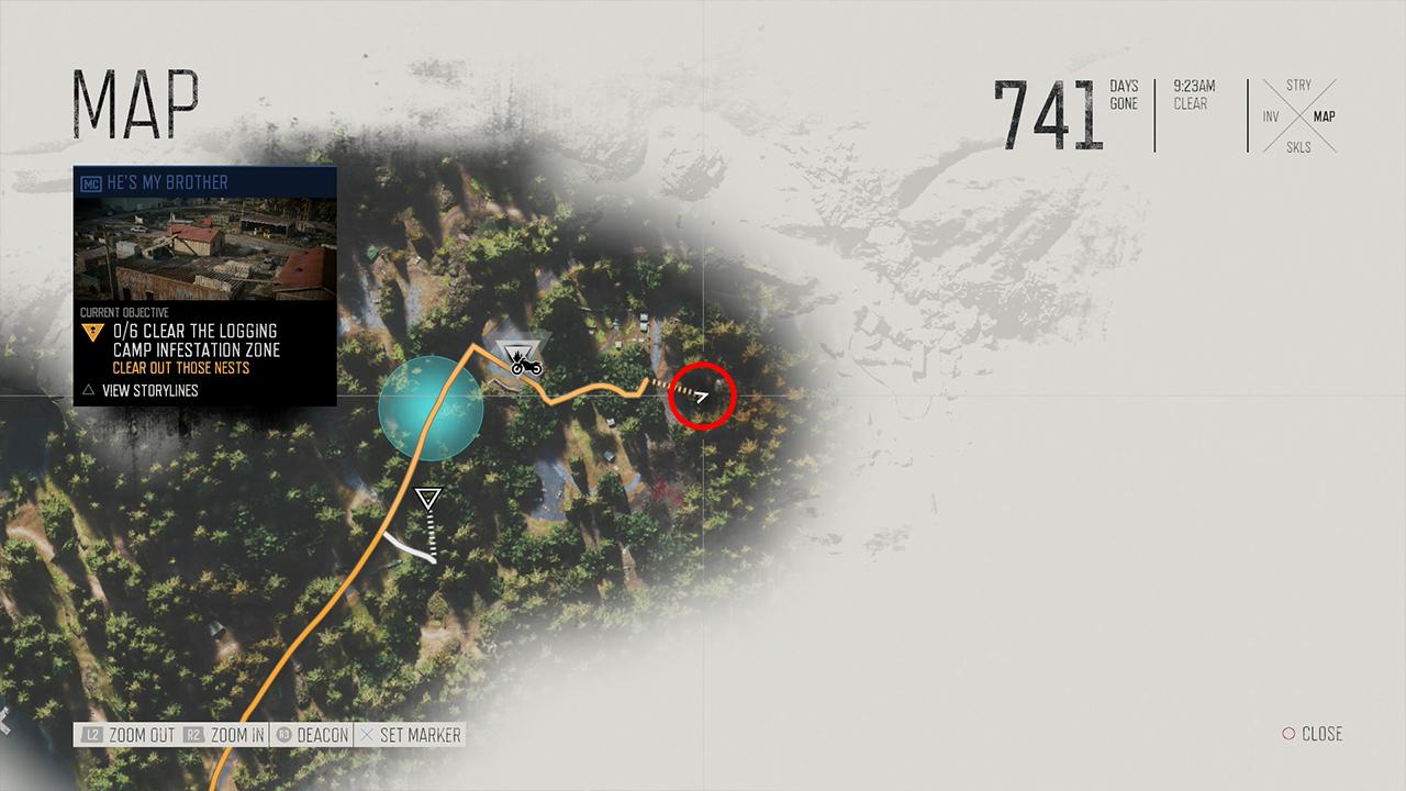 Location Three Map
