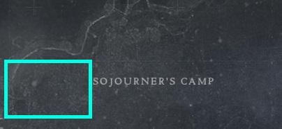 Destiny 2 Sojourner's Camp Hidden Tape Location