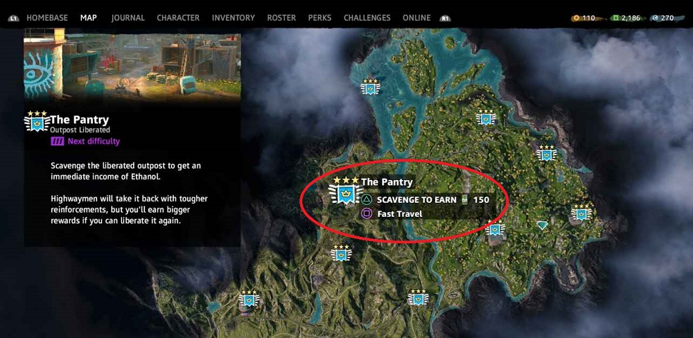 Far Cry New Dawn Outpost Locations