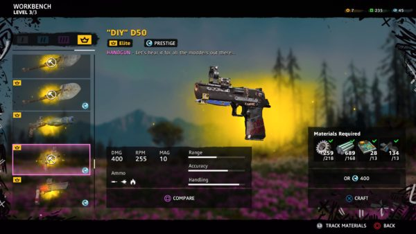 Far Cry New Dawn Best Weapons their rank