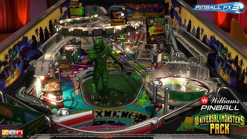 Pinball FX3 Universal Monsters Pack
