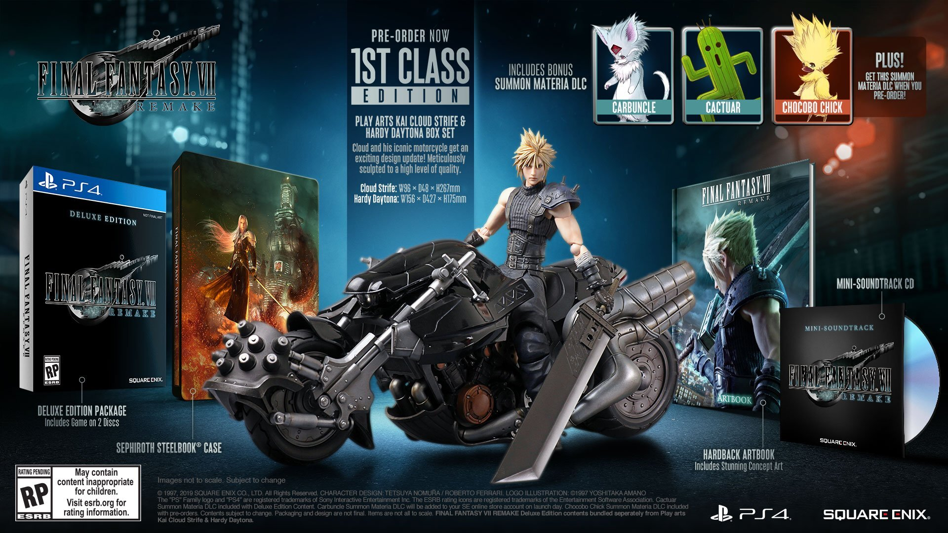 Final Fantasy VII Remake 1st Class Edition