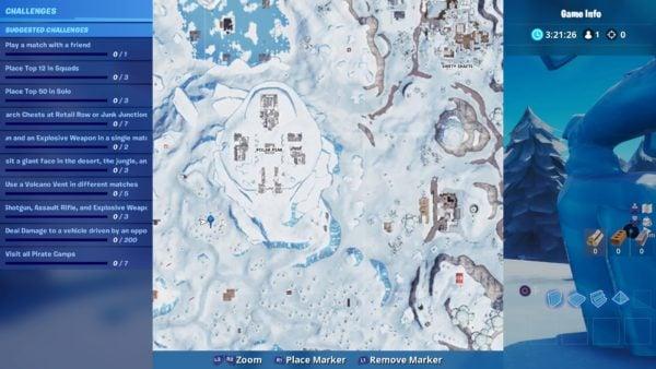 Fortnite Season 8 Treasure Island