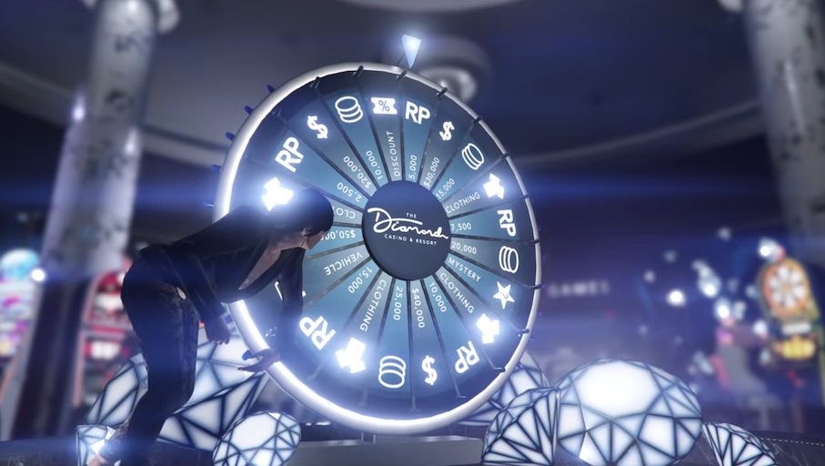 GTA Online Wheel of Fortune