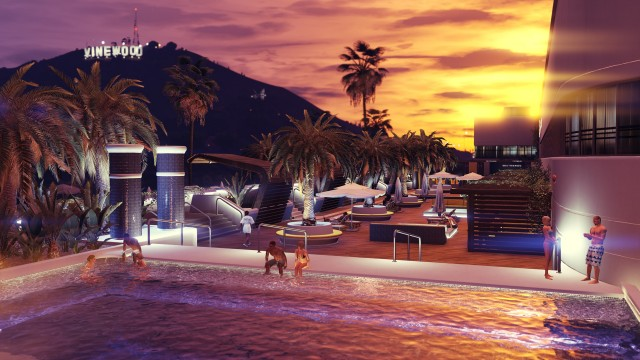 GTA Online Casino Roof Terrace